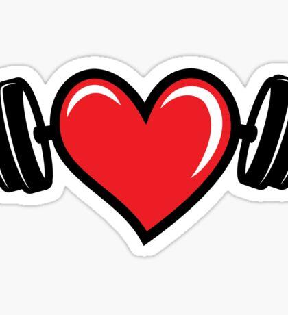 Strong Healthy Heart Sticker