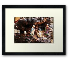 old Crib Framed Print
