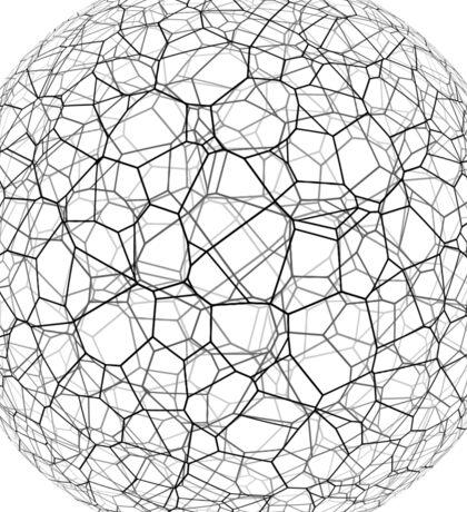 Spongy black and white ball Sticker