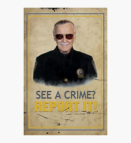 Officer Lee Photographic Print