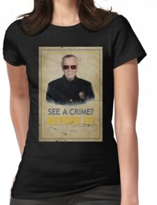 Officer Lee Womens Fitted T-Shirt