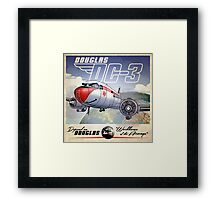 "WINGS Series ""DC-3"" Framed Print"
