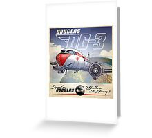 "WINGS Series ""DC-3"" Greeting Card"