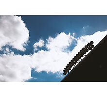 Sky Lights at Providence Park Photographic Print