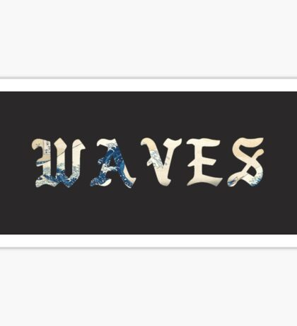 Waves - Kanye West Sticker