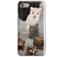owls glasses iPhone Case/Skin
