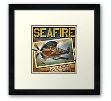 "WINGS Series ""SEAFIRE"" Framed Print"