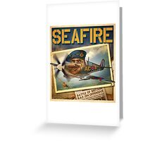 "WINGS Series ""SEAFIRE"" Greeting Card"