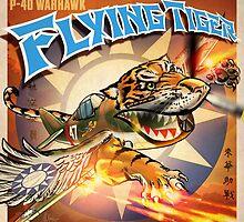 """WINGS Series """"FLYING TIGER"""" by Pat McNeely"""