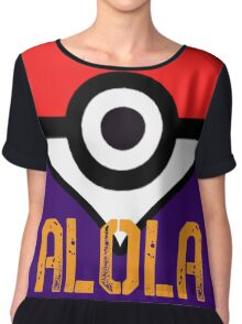 Heart of Alola Chiffon Top
