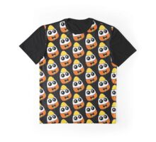 Candy Corn Loner Graphic T-Shirt