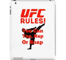 UFC Rules iPad Case/Skin