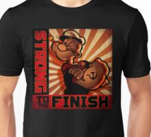 """""""POPEYE- Strong to the Finish""""  Unisex T-Shirt"""