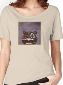 Kanye West - My Beautiful Dark Twisted Fantasy Bear Women's Relaxed Fit T-Shirt