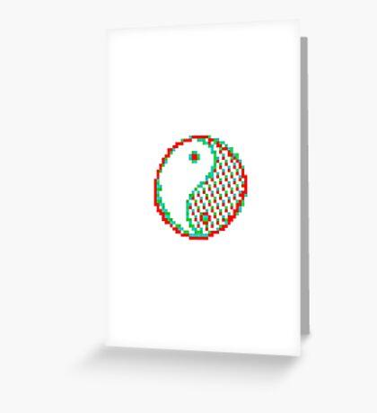 Yin and Yang - Acid Greeting Card