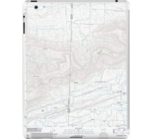 USGS TOPO Map Arkansas AR Bates 20110817 TM iPad Case/Skin