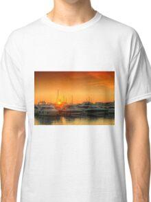 Marina Sunset Classic T-Shirt