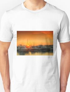 Marina Sunset Unisex T-Shirt