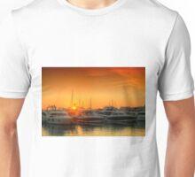Marina Sunset Unisex T-Shirt