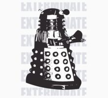 DALEK EXTERMINATE One Piece - Long Sleeve
