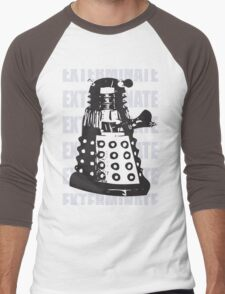 DALEK EXTERMINATE Men's Baseball ¾ T-Shirt