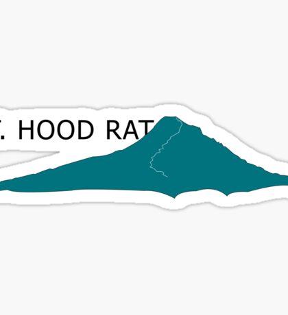 Mt. Hood Rat  Sticker