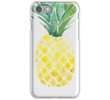 Tropical Pineapple Fruit Trio iPhone Case/Skin