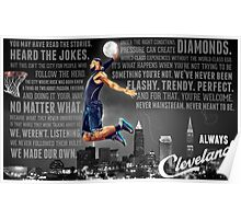 Lebron James Poster Poster