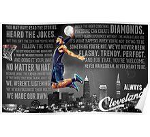 Lebron James Poster Poster