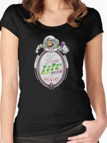 Buzz Lite Beer Women's Fitted Scoop T-Shirt
