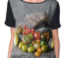 Vegetable composition Chiffon Top