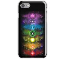 Chakra Frequencies Phone Case #1 iPhone Case/Skin