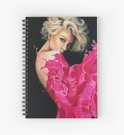 Liquid Dress Spiral Notebook