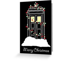 Christmas Sci-Fi - I Greeting Card