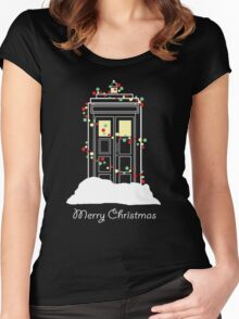 Christmas Sci-Fi - I Women's Fitted Scoop T-Shirt