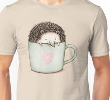 Hedgehog in a Mug Unisex T-Shirt