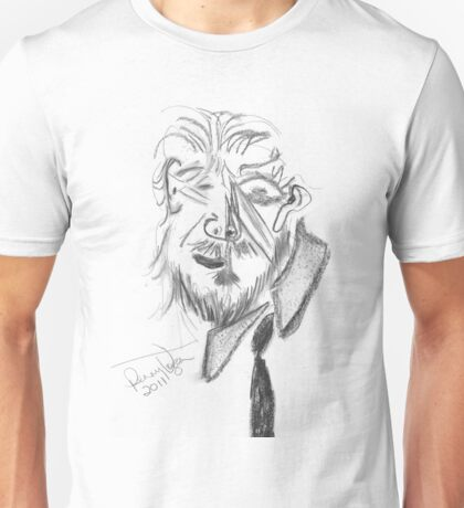 Jeff Bridges (Cubist portrait) (2011) Unisex T-Shirt