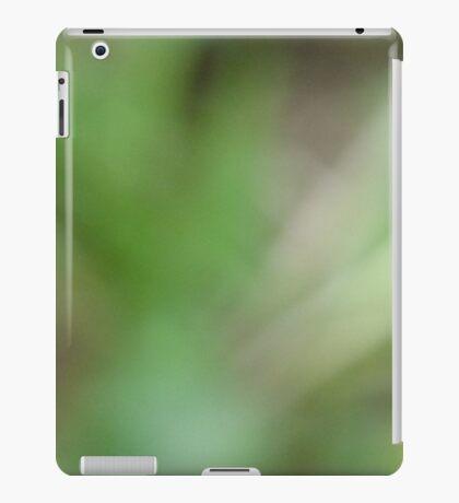 Blurry garden iPad Case/Skin