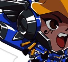 Pharah Cute Spray Sticker