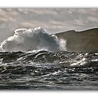 Clogher Head Waves by InShinFrog