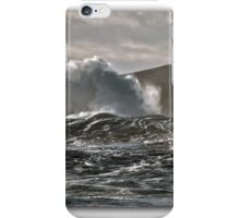 Clogher Head Waves iPhone Case/Skin