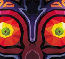 Triangle Majora's Mask Sticker