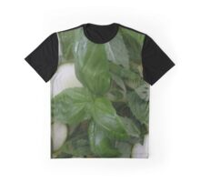 Green-white salad Graphic T-Shirt