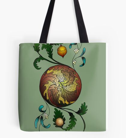 Ace of Discs Tote Bag