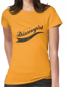 DISCOWGIRL - B Womens Fitted T-Shirt