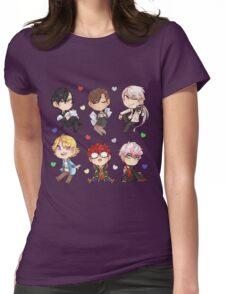 Mystic Messenger Set* Womens Fitted T-Shirt