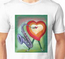 Corazón de jazz por Diego Manuel  Unisex T-Shirt