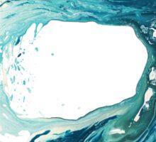 Surf Art Wave Print Ocean Picture Sticker