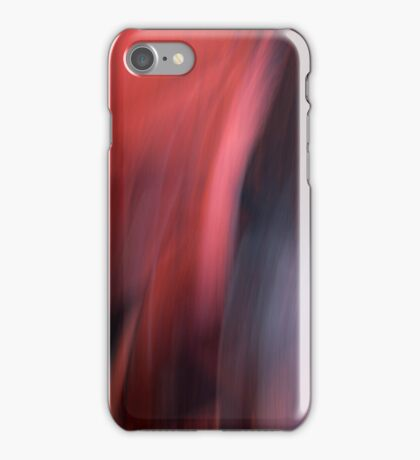 Abstract Red / Rouge abstrait V iPhone Case/Skin