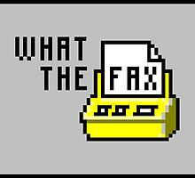 What the fax!?! by emilegraphics